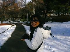super smile in super snow..