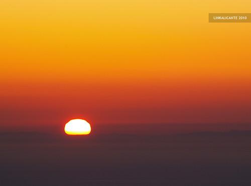 Amanece sobre Ibiza