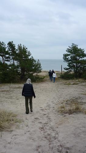 Beach walk, Skåne