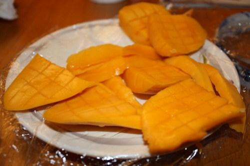 Cross Hatched Mangos