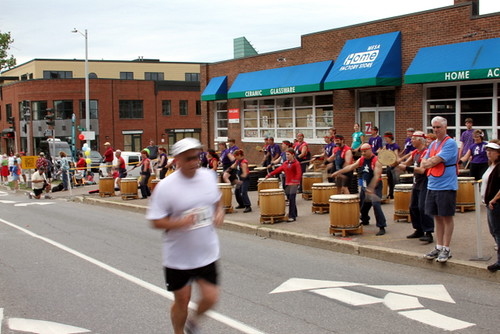 Battery Street drummers