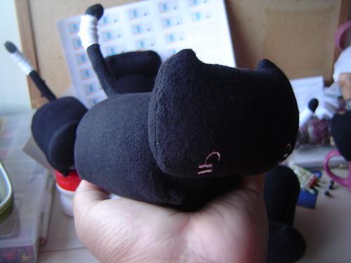 boneco do gato Froid, perspectiva
