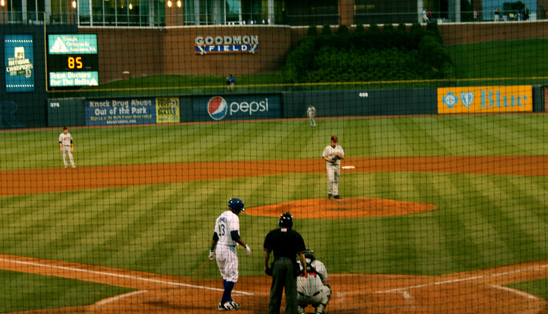 Jennings at the plate