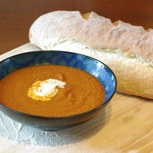 Veggie tomato soup