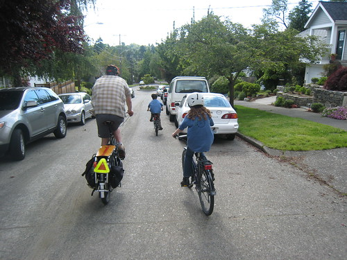 Bike to School Month Wrap Party