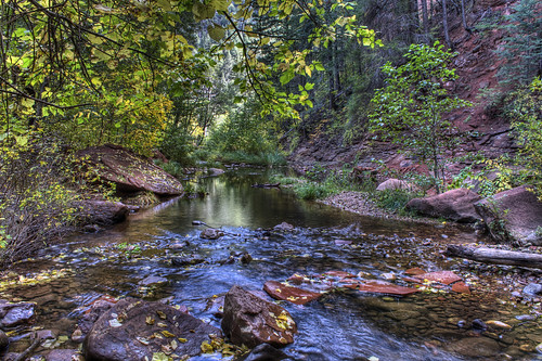 West Fork in Oak Creek Canyon