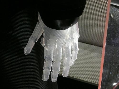 Mannequin's hand