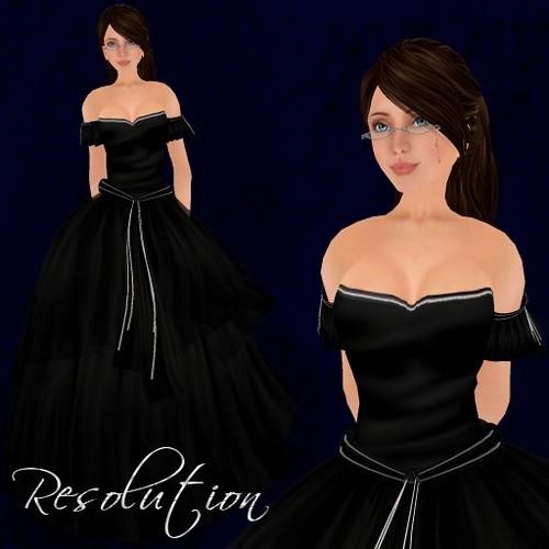 Resolution Gown - Black - Ad