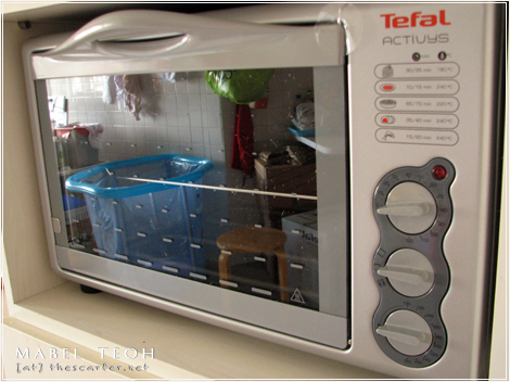 Our new Tefal Activys oven in SG.