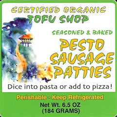 Pesto Sausage Patties