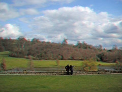 View from Chartwell, the family home of Sir Wi...