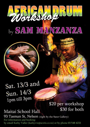 African Drum Workshop - Nelson