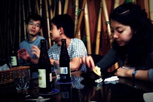 Joseph Slug, Wei Yang Slug and Simin Slug