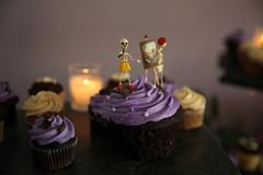 Our cupcake toppers Dios de las Muertos singer and artist