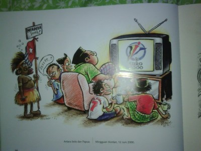 Papua und Fußball WM