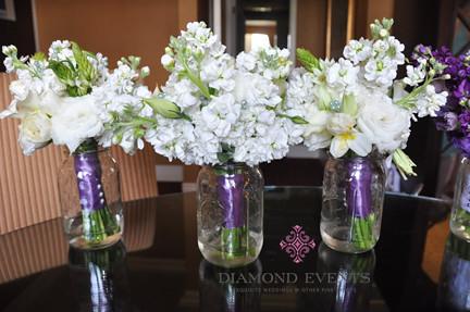 Bridesmaid Bouquets by Gloriosa