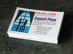 Exporting planning cards