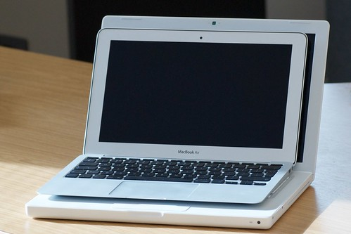 "11"" MacBook Air compared to 13"" MacBook"
