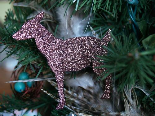 Glittered Deer