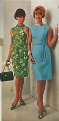 1966 Spiegel catalog sheath dresses