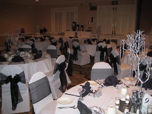 4244705947 5f791dbf91 Baú de ideias: Decoração de casamento preto e branco