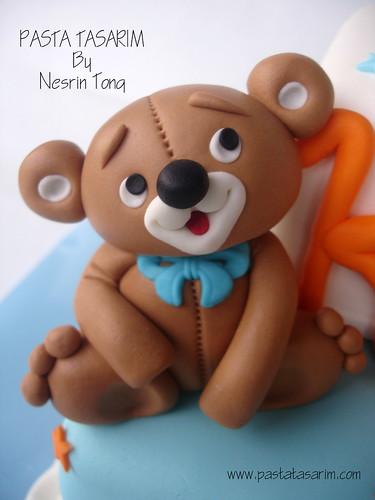 1ST BIRTHDAY CAKE - KAAN'S