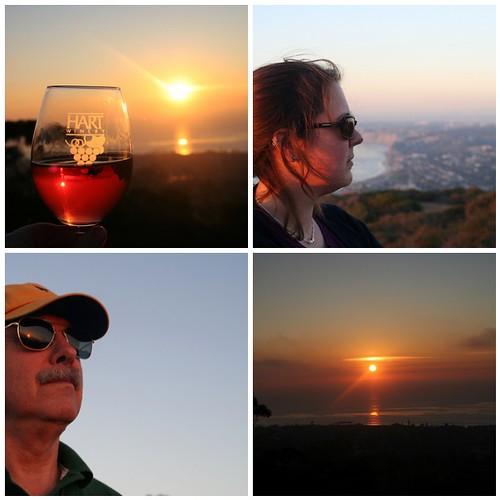 La Jolla Sunset Mosaic