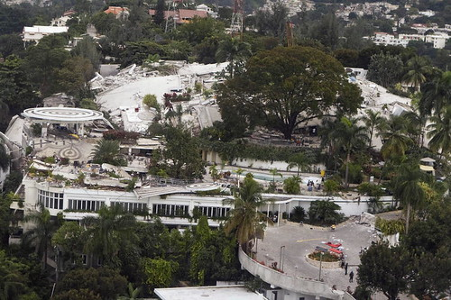 Port-au-Prince Hotel Destroyed by Quake