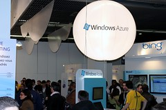 Le stand Windows Azure aux #techdays 2010