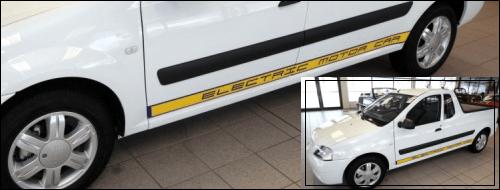 in romania dacia lanseaza SUV, in Iowa,SUA, o companie vinde Logan Pickup Electric