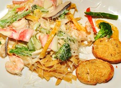 Seafood Primavera