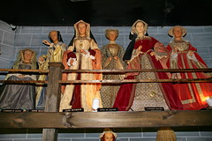Six wives (queens consort) of King Henry VIII