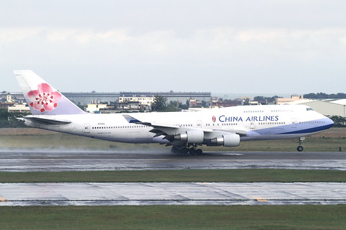 China Airlines B747-400(N168CL)