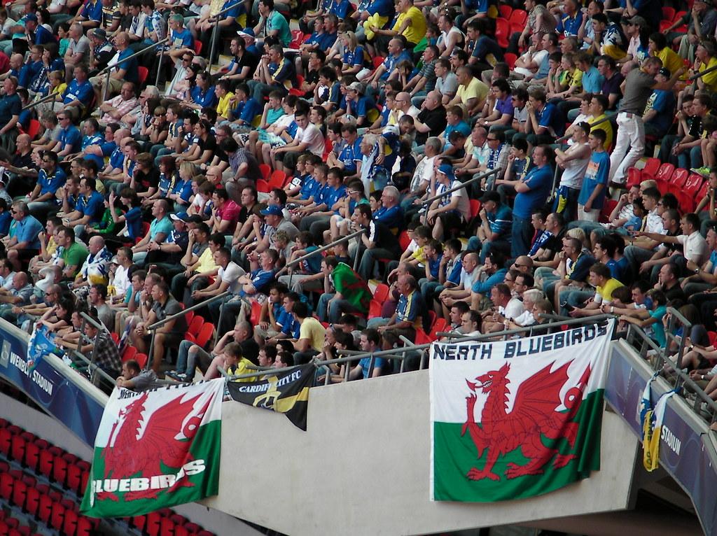 Wembley-Blackpool v Cardiff-Players prepare