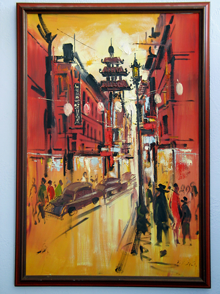 San Francisco Chinatown Painting