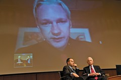 Julian Assange & Daniel Ellsberg