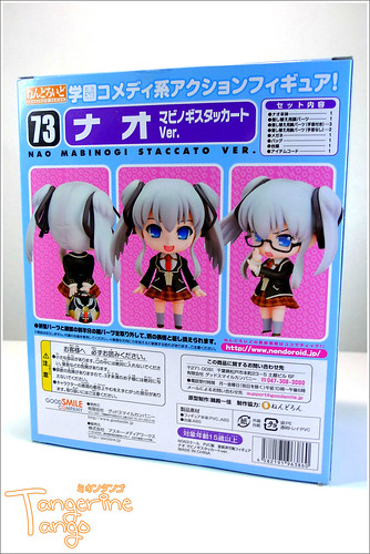 back view of the package