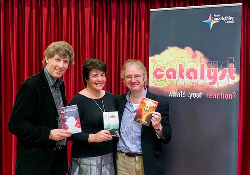 Tim Bowler, Linda Strachan and Paul Dowswell
