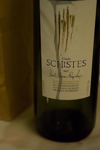Saturday's wine