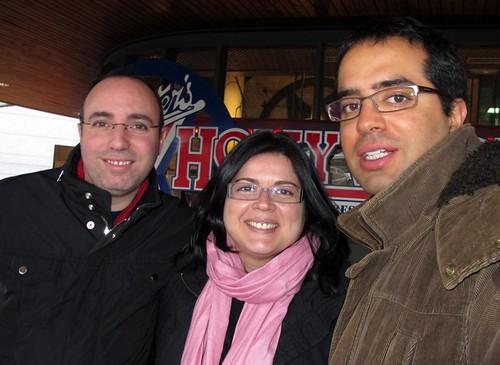Sergi, Yolanda y yo
