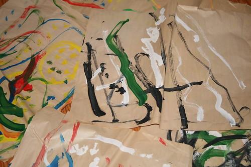 Sean's paintings