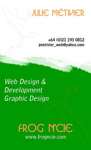 Business Card - Carte d'affaire