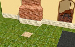 Foundation/Chimney problem with The Sims 3