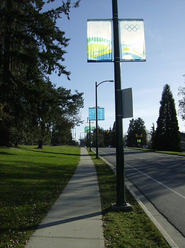 2010 VANCOUVER WINTER OLYMPICS | THE LOOK OF THE CITY :: CAMBIE HERITAGE BOULEVARD BANNERS 1