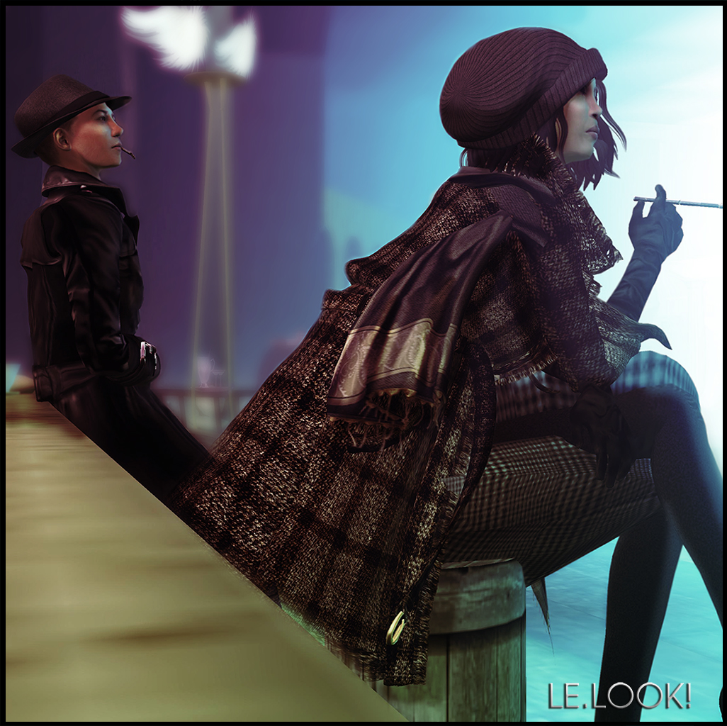 February Week 3 - Fashion & Style -Trace Osterham & Tomoyo Breitman