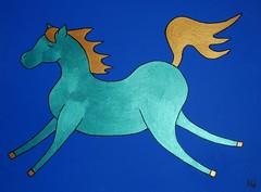 Child Line Polo - Horse