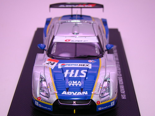 EBBRO HIS ADVAN KONDO GT-R SUPER GT 500 2009 RD.7 FUJI (4)