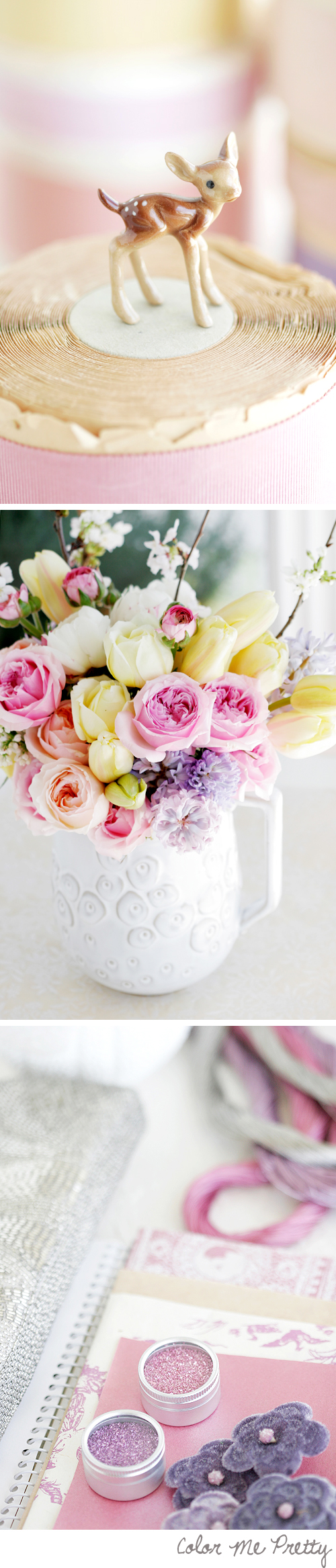 Soft Yellows, Pinks and Lilac Tones