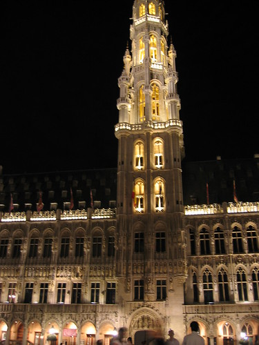Grand' Place by night