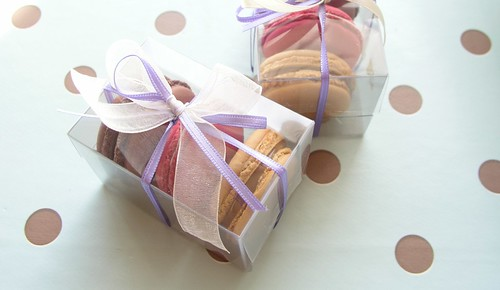 Macaron Birthday Favour